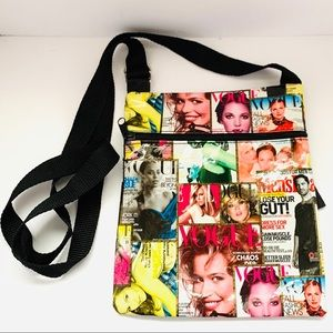 Fashion magazine crossbody bag GUC